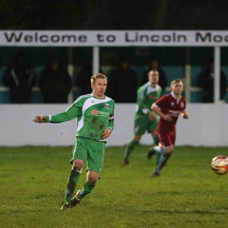 Lincoln Moorlands vs Shirebrook Town