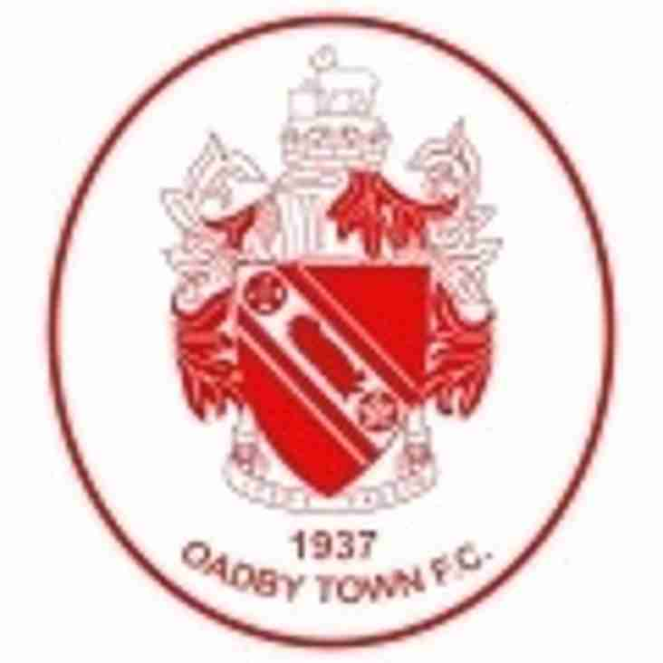 Oadby away tomorrow for The Cooks.