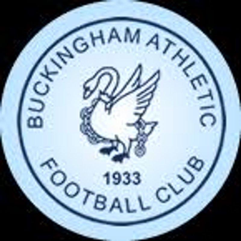 Buckingham Athletic double header tomorrow at Compton Park.