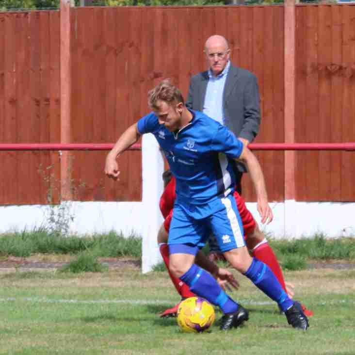 Oadby Town next up for Cogenhoe.