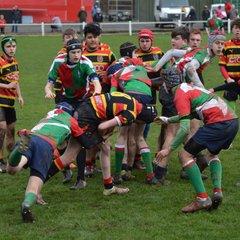 Bradford v Lutterworth u16s 19-2-17
