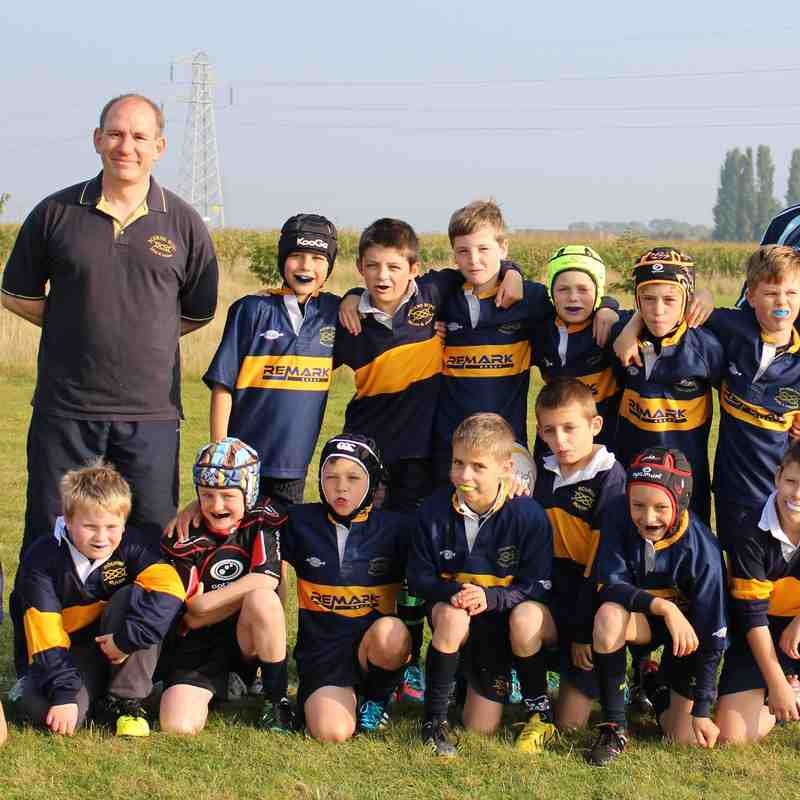 U10 Team at Sleaford Minis and Juniors Tournament 04/10/15