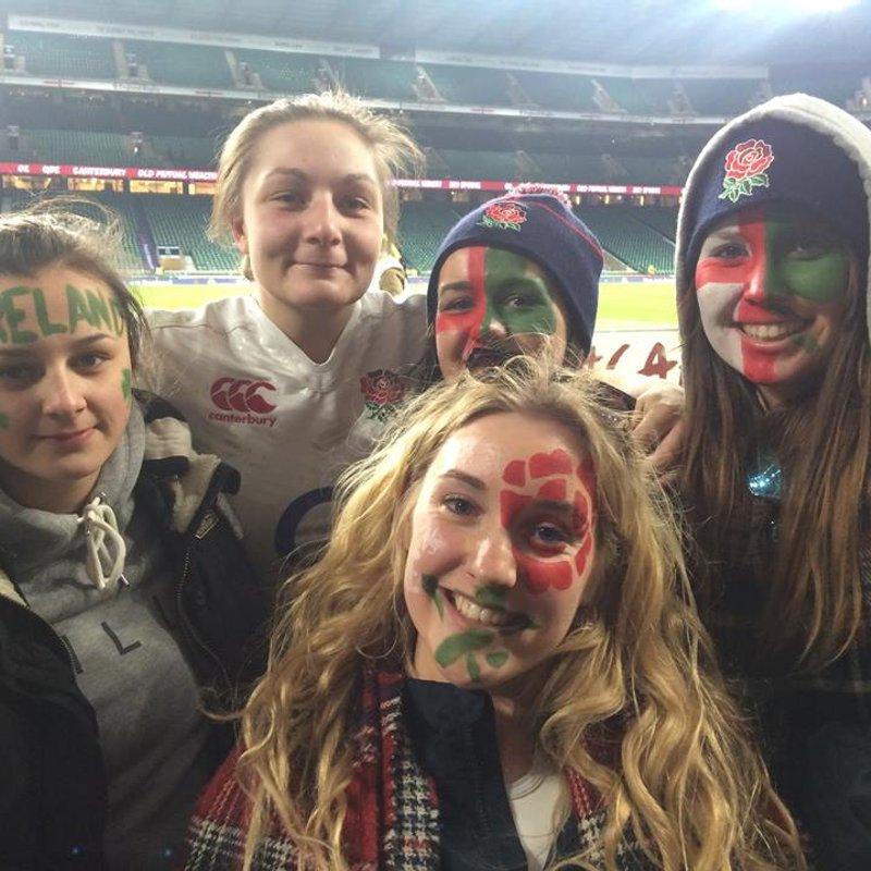 Trip to Twickenham England V Ireland Ladies 2016