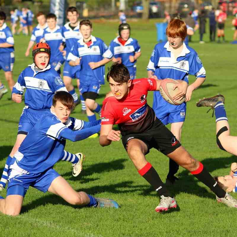 U15s Hawks V Dunfermline RFC