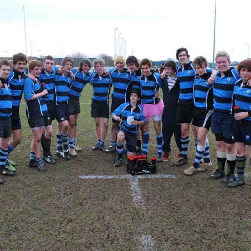 Topsham Toffs on Tour - Bridgewater 2011 (Under 16)