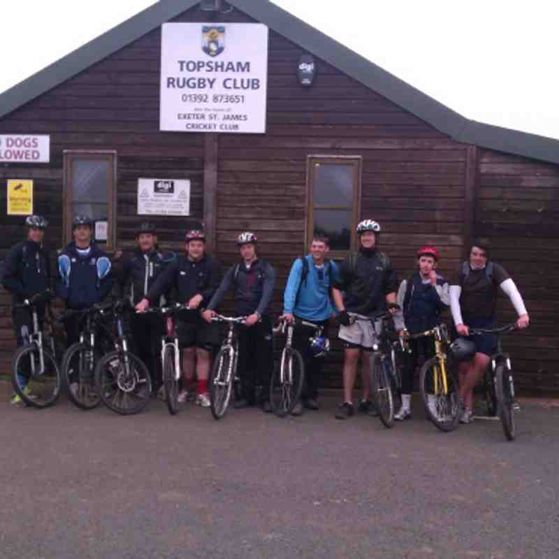 Colts Cycle Tour of Devon
