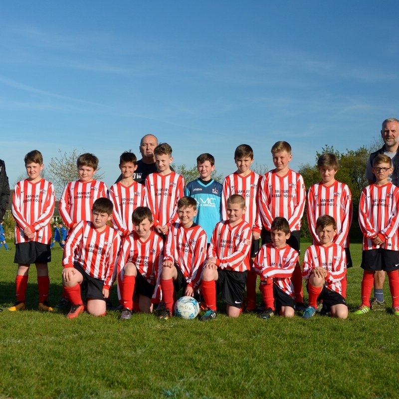 easinington U12s v banbury utd youth