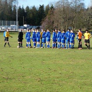 Last minute winner sends U15s out of Kent Cup