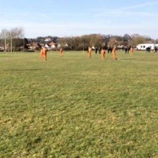 Under-14s run Hastings close