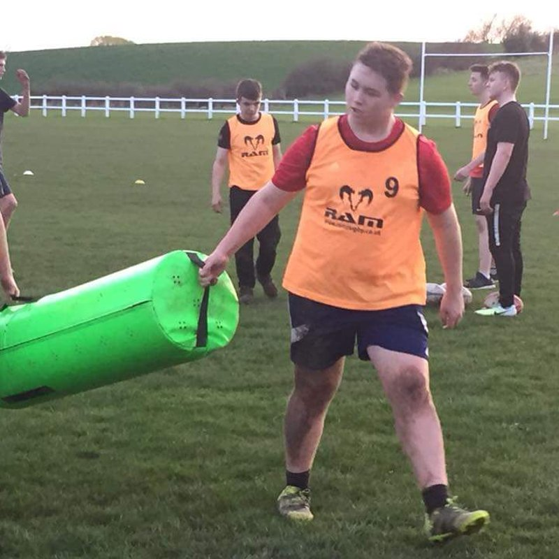 Army cadets training
