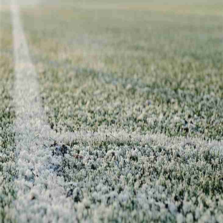 Wednesday 13th December - TRAINING CANCELLED