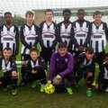 Under 14 Panthers beat Willen Dragon Slayers 1 - 9