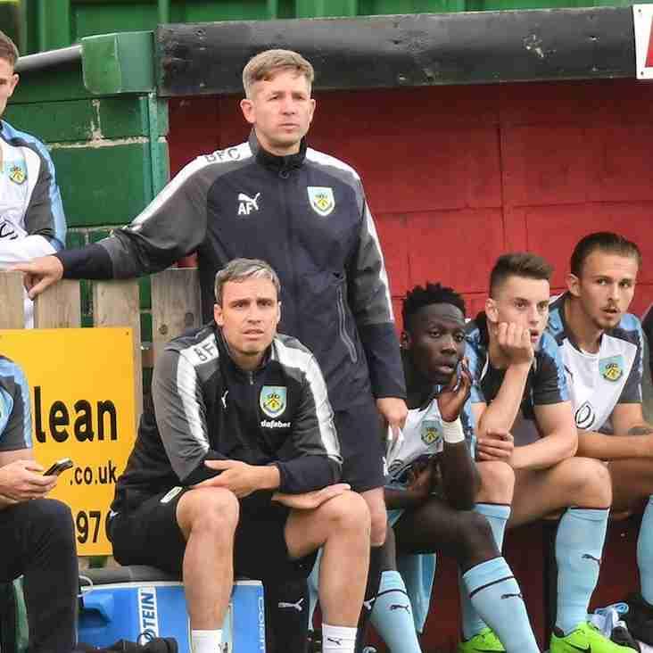 The Clarets' under-23s confirmed as pre-season fixture