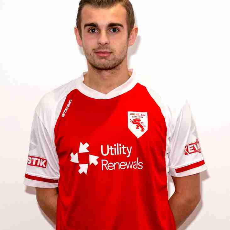 Colne F.C. complete signing of Ben Barber for undisclosed fee