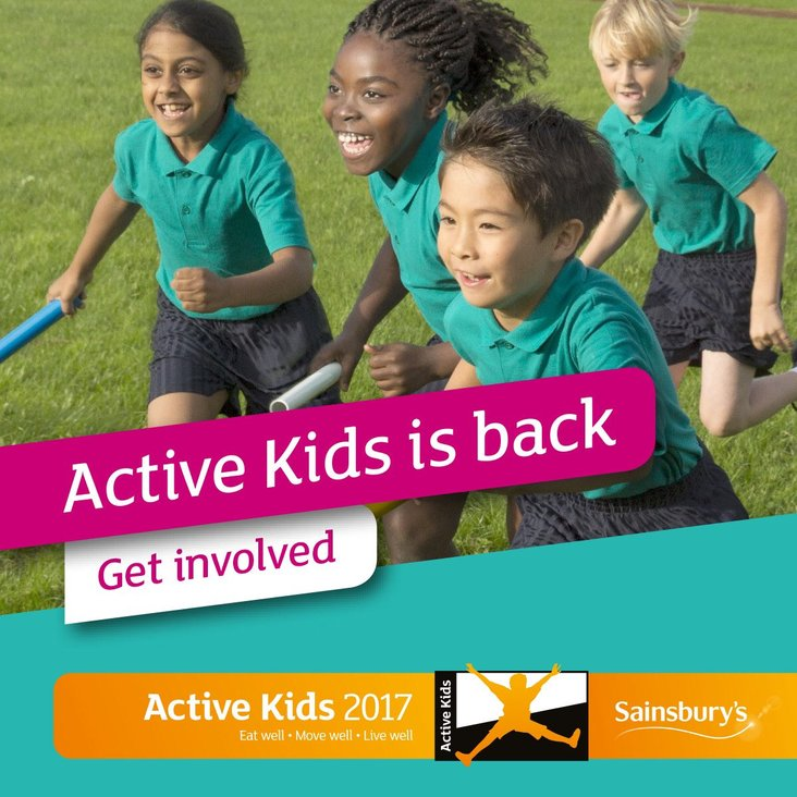 Sainsbury&#039;s Active Kids 2017<
