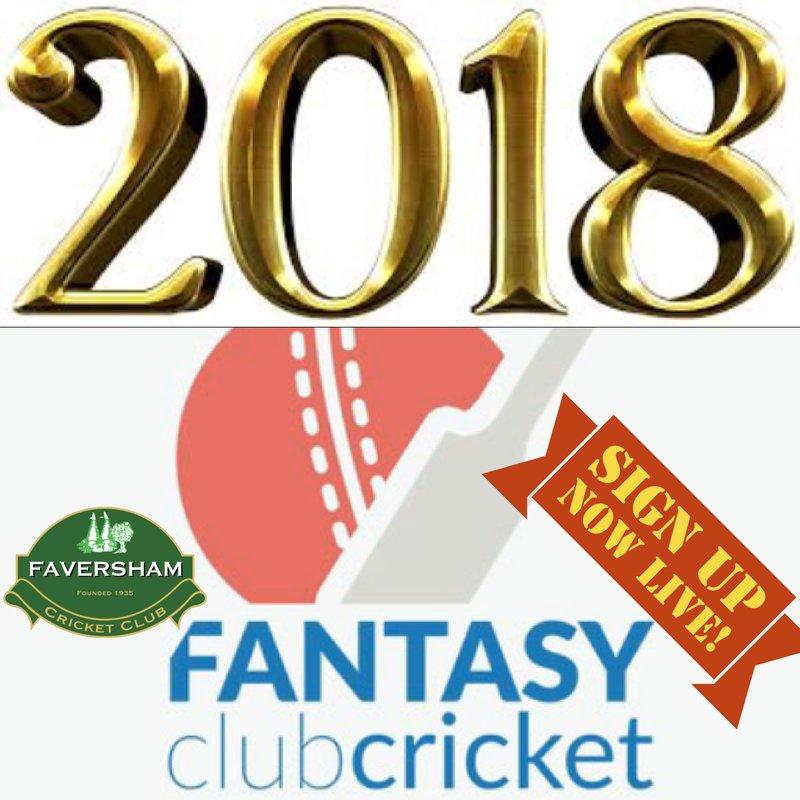 Fantasy Club Cricket 2018 is HERE!