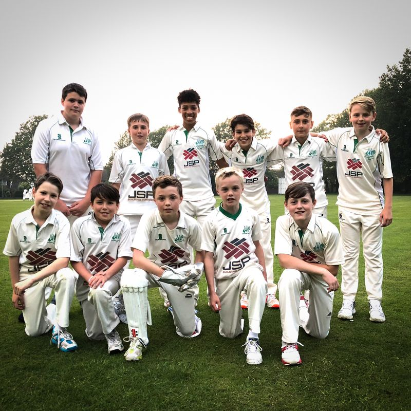 Top Cricket from our under 13s