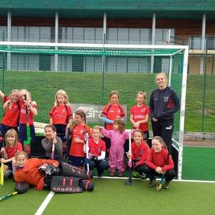 Blackheath Bulldogs - U10 girls - Tunbridge Wells Triangular