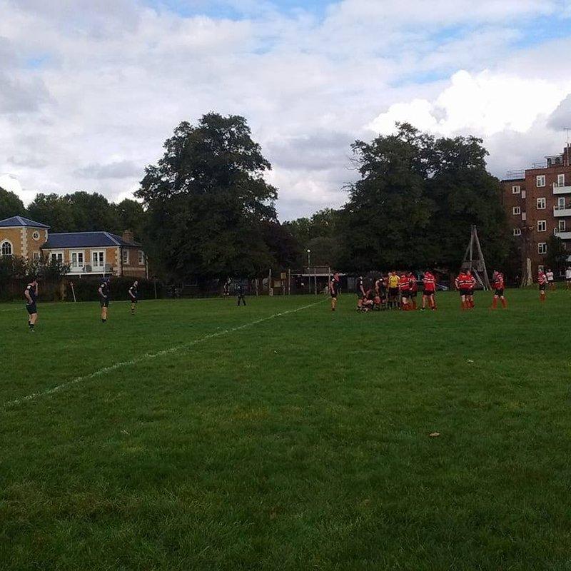 Kilburn edge encounter with Hammersmith & Fulham