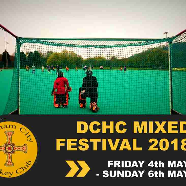 DCHC Mixed Festival - 4th - 6th May