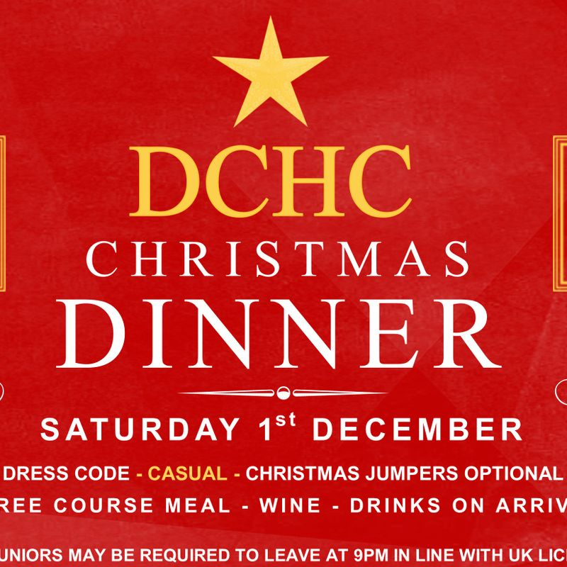 Christmas Dinner - Saturday 1st December