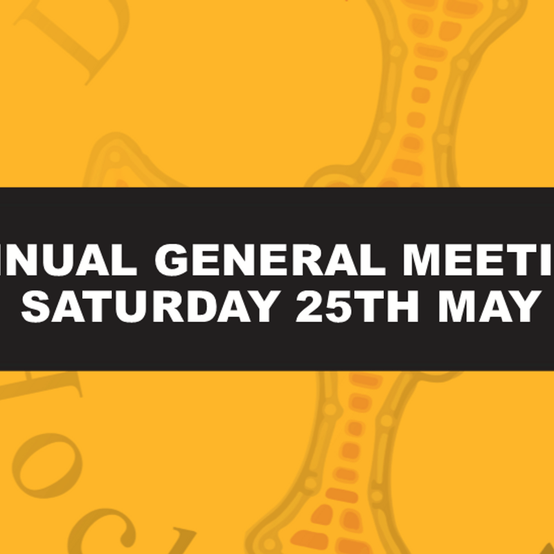 AGM & Play Day - Saturday 25th May