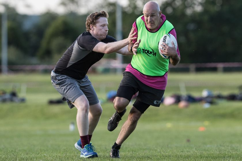 Summer Touch League - Just over one week to go...rules and info...