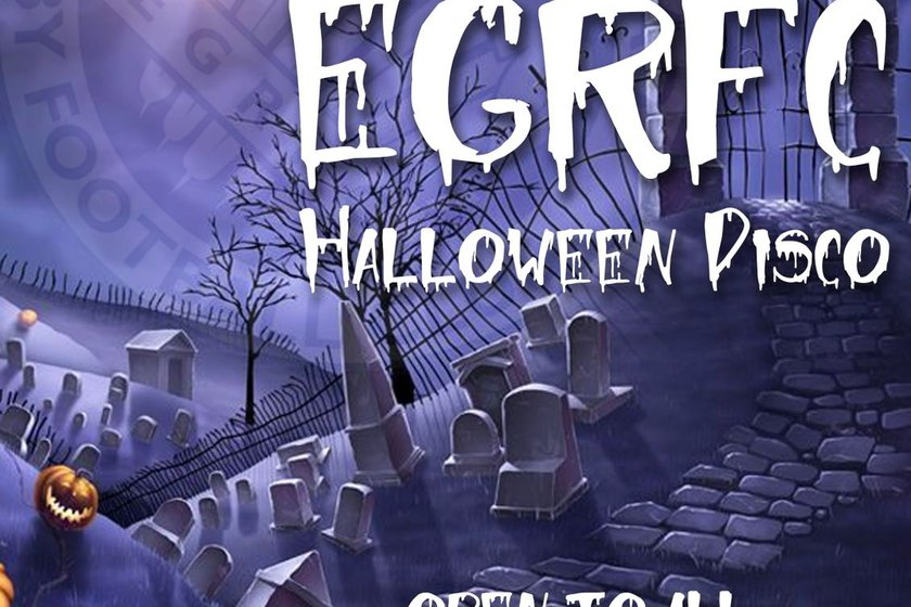 EGRFC Halloween Fancy Dress Disco 27.10.18