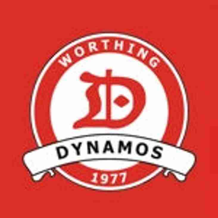 Worthing Dynamos Under 10's team feature in the ACYFL Bob Marchant Cup Final