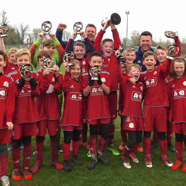 Worthing Dynamos U11 Win the ACYFL Ernie Piper Presidents Cup Final