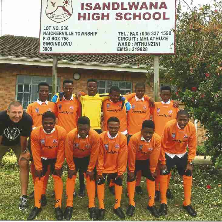 Old Worthing Dynamos Kit To Africa