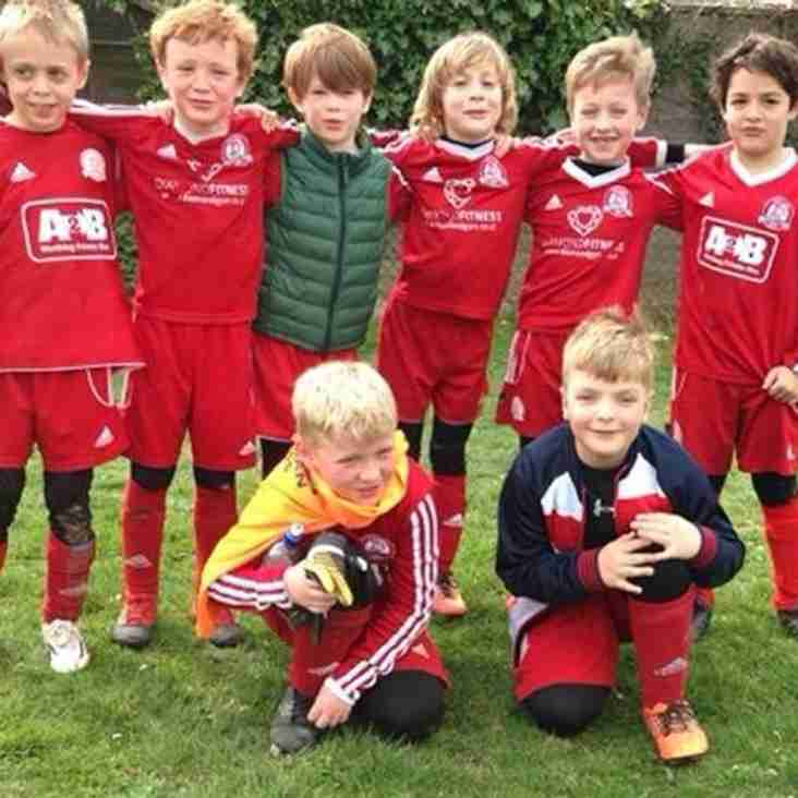 U8's Joint Winners of the ACYFL 'Nightingale' League cup