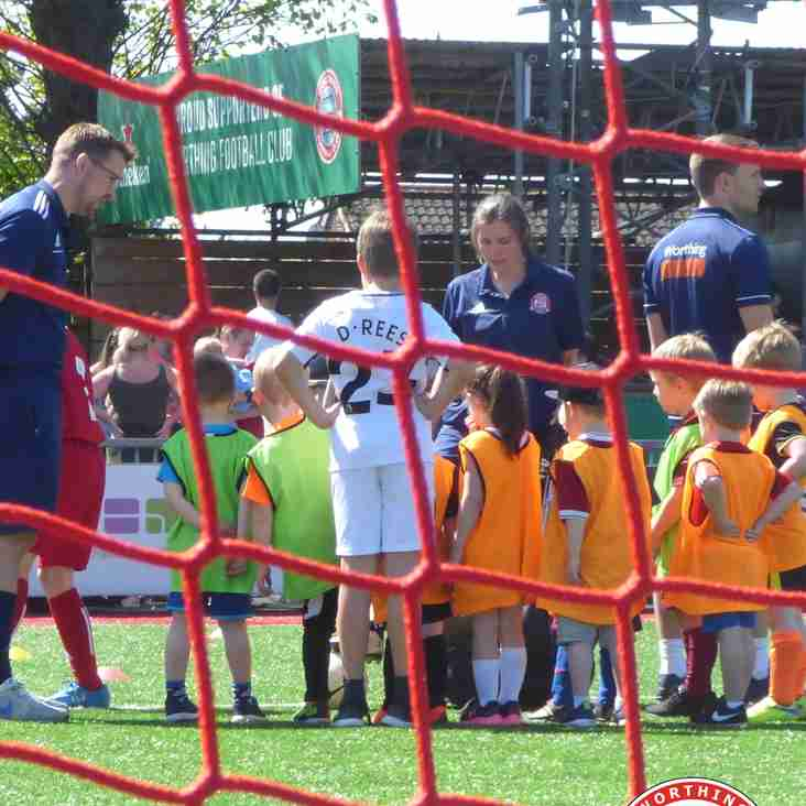 May 2018 Worthing Dynamos Soccer AM, Free Football Session 1 of 3, for 4 to 6 year olds