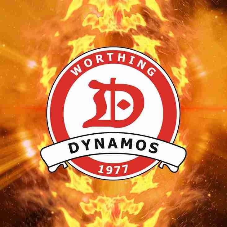Worthing Dynamos Under 9's Red Team Make ACYFL Cissbury Cup Final