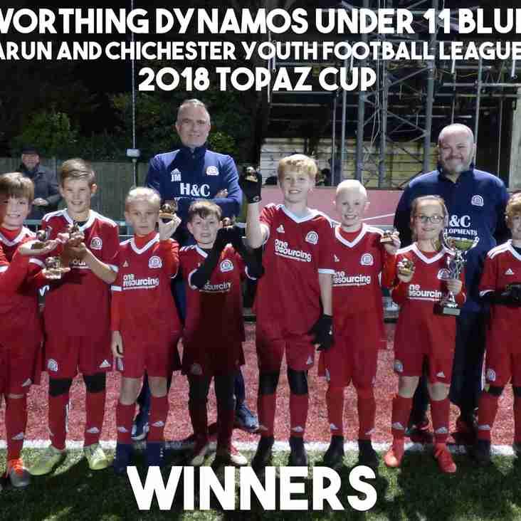 U11 Blue Team Win The 2018 ACYFL Topaz Cup