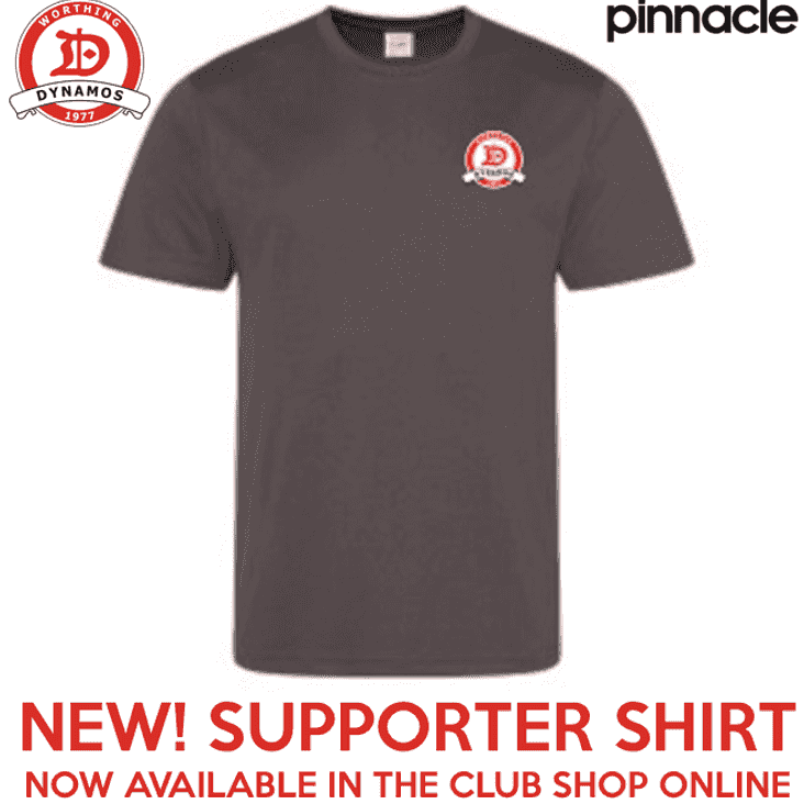NEW! Supporter Shirt Now Available In the Club Online Store
