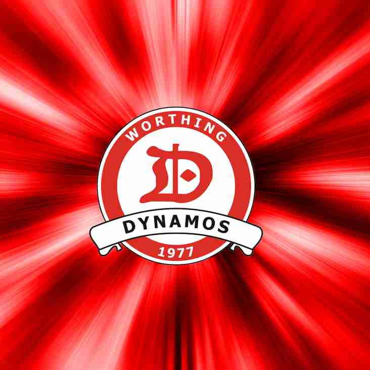Results From This Weekends Worthing Dynamos Fixtures