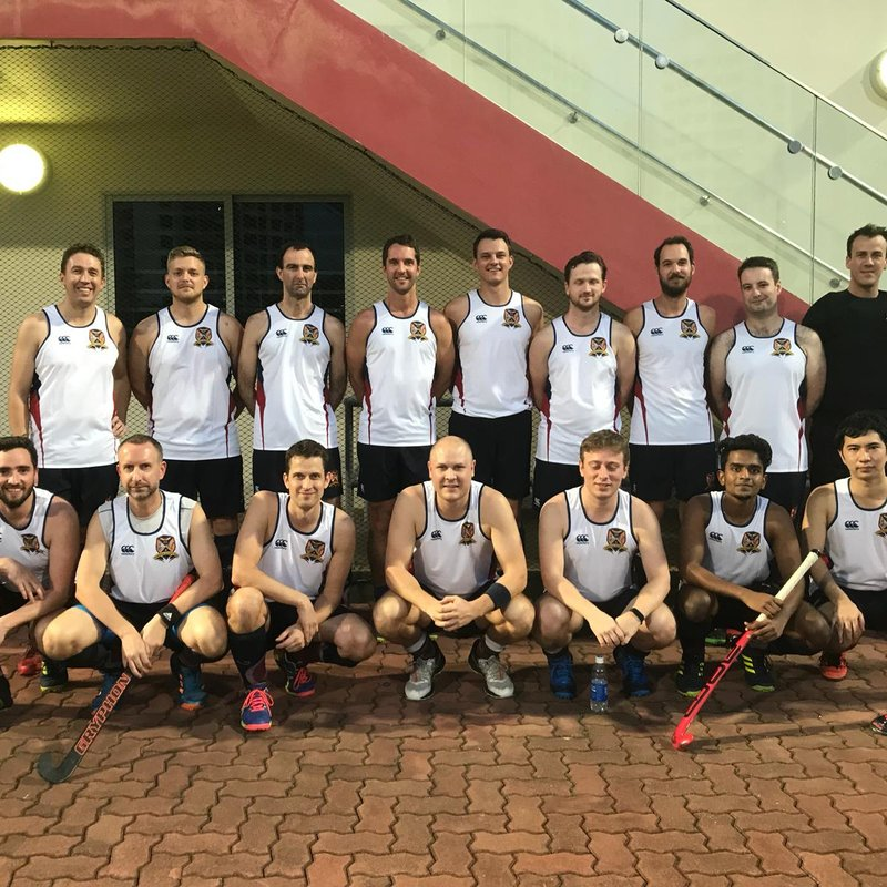 Mens 2's took on a Mens 1's league Dutch team...
