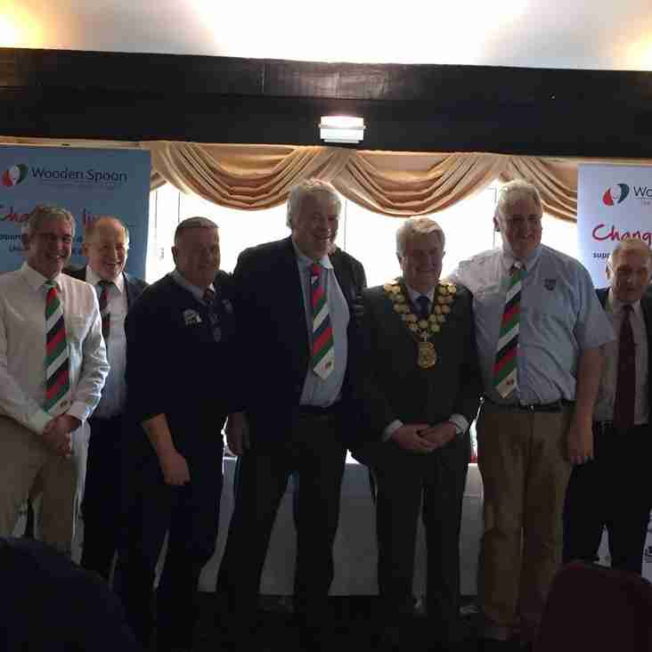 Wirral support Wooden Spoon Children's Charity