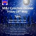 M&Js Coaches Dinner