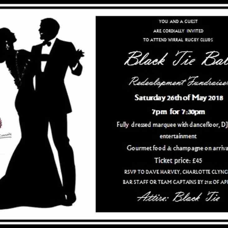 Black Tie Ball - Saturday 26th May