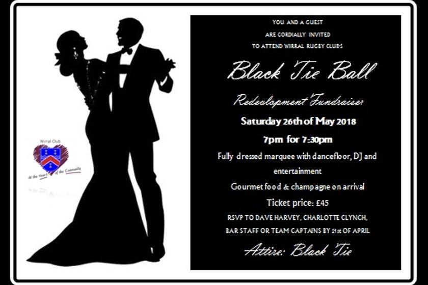 Black Tie Ball - Saturday 26th May