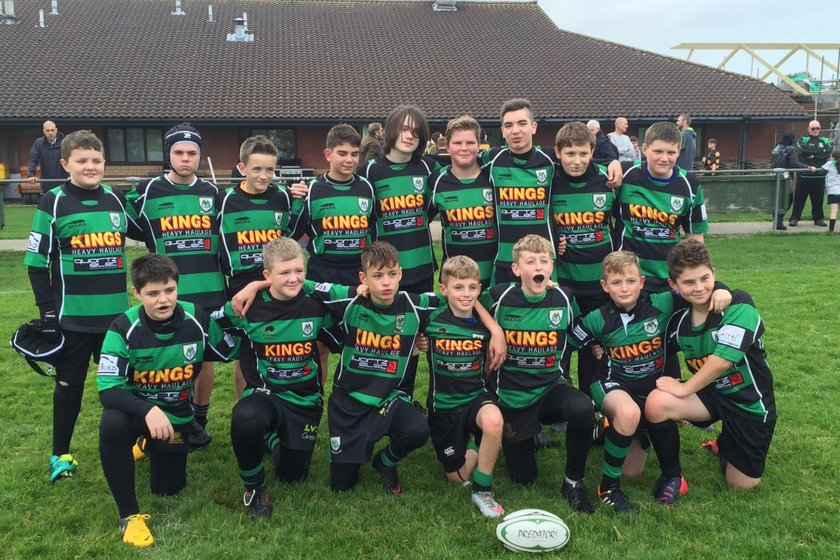 Under 13's beat Frampton Cotterell 25 - 50