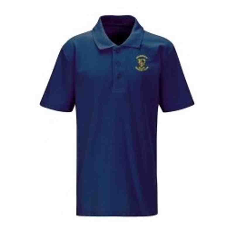 Senior Polo Shirt Navy