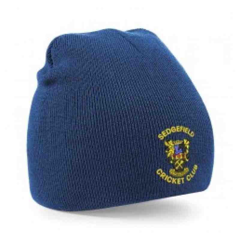 SCC Beanie Hat Navy