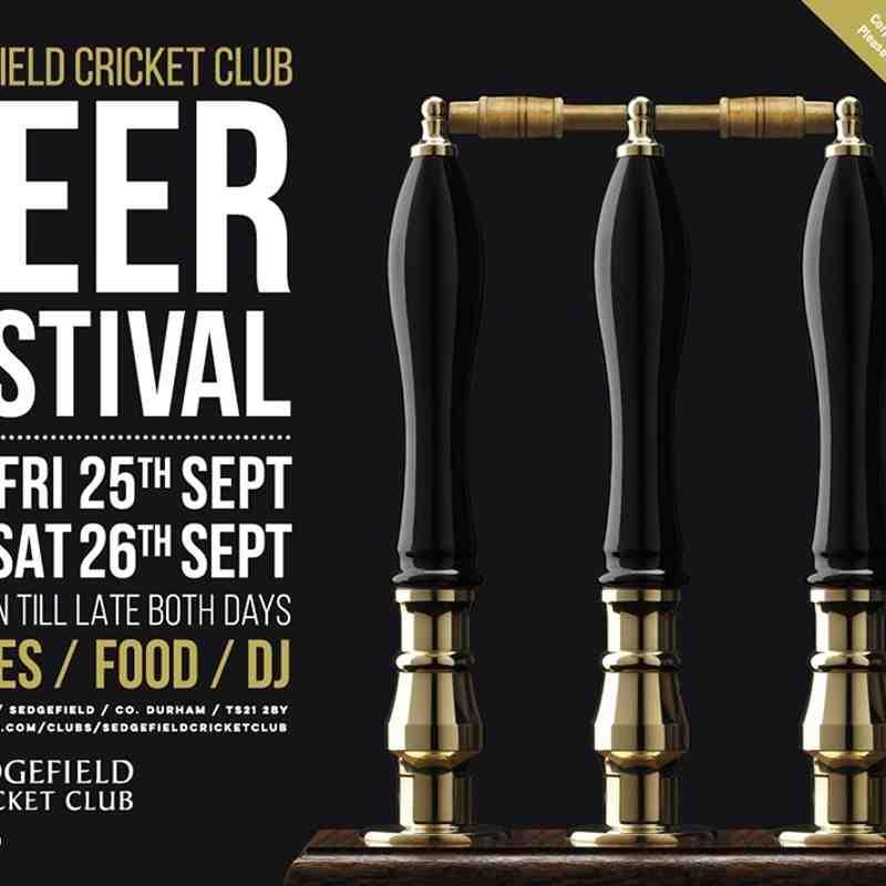 SCC Beer Festival 25-26.09.15