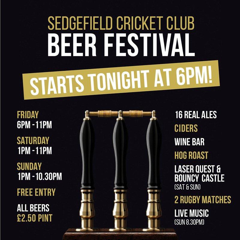 SCC Beer Festival is back..........