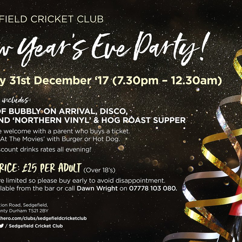 SCC New Years Eve Party....