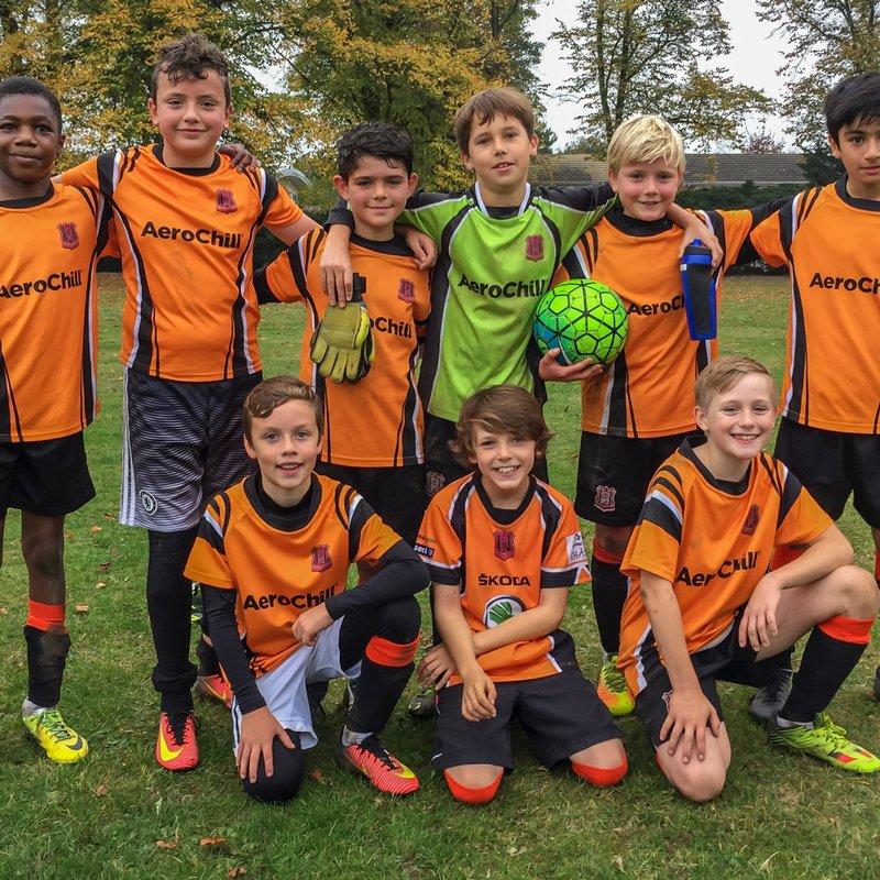 Hearts FC Cheetahs Under 12's lose to READING WOMEN FC (Berkshire) 8 - 1