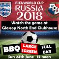 England v Panama World Cup Match